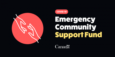 Banner of Covid-19 Emergency Community Support Fund